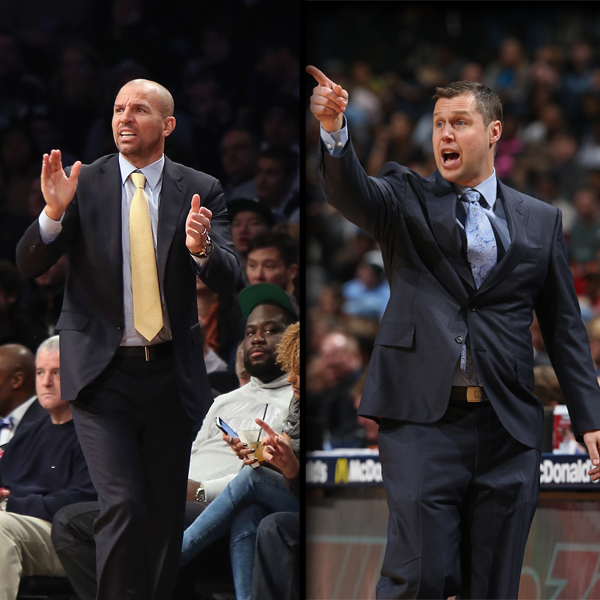 Jason Kidd Dave Joerger Coaches of the Month News