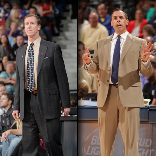 Terry Stotts Frank Vogel Coaches of the Month