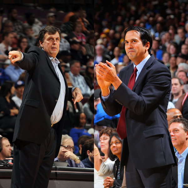 NBA Coaches of the Month February