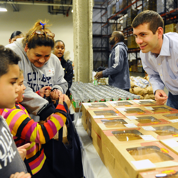 Celtics support Boston Greater Food Bank