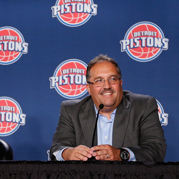Detroit Pistons Introduce Stan Van Gundy