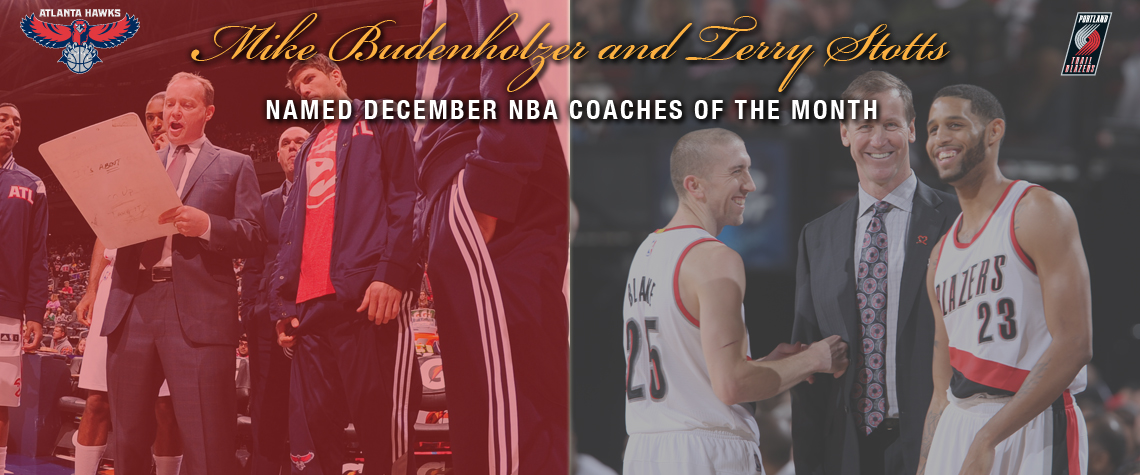 December Coaches Of The Month