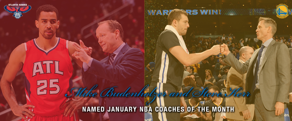 January NBA Coaches Of The Month
