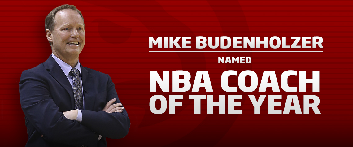 2015 Coach of the Year Mike Budenholzer
