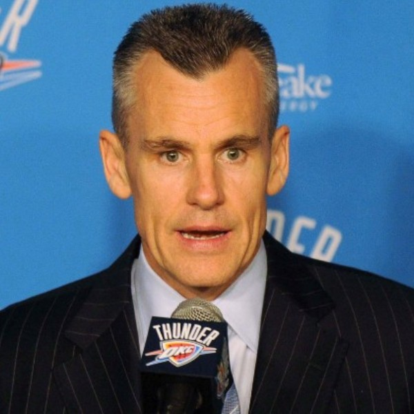 Donovan introduced as Thunder's new coach