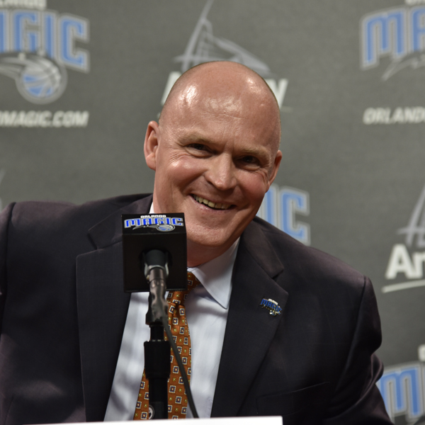 Orlando Magic Introduce New Head Coach Scott Skiles