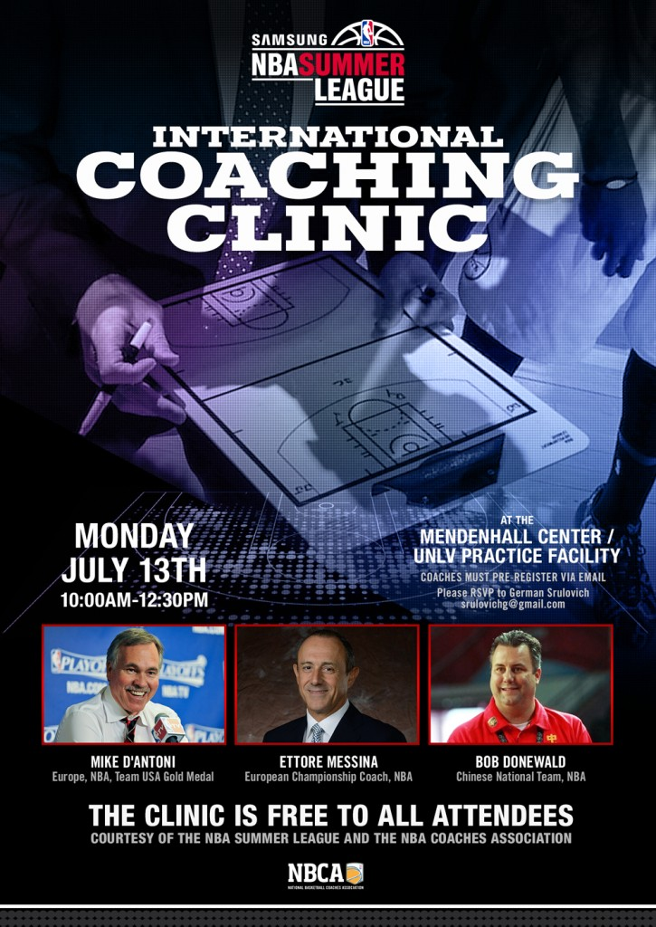 2015 International Coaching Clinic Invite