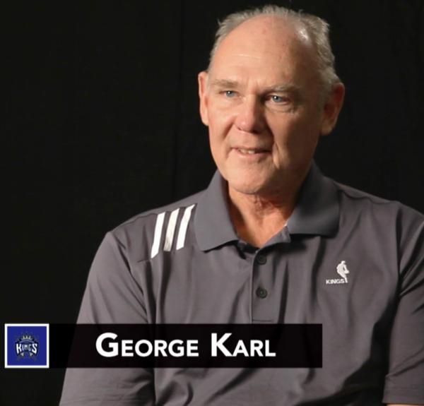 George Karl NBA Coaches Meetings
