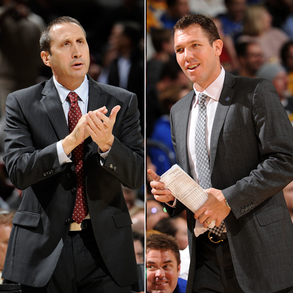 November NBA Coaches of the Month
