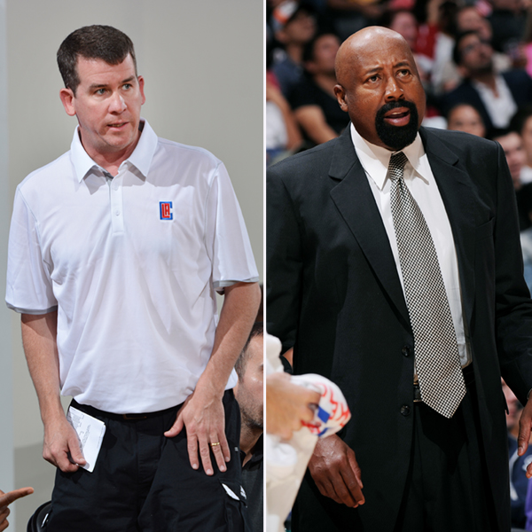 Brendan O'Connor and Mike Woodson