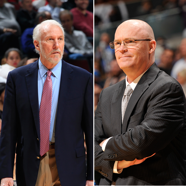 December NBA Coaches of The Month