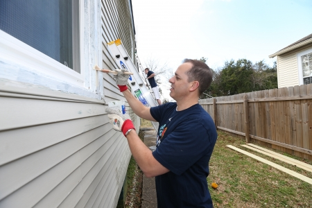 Indiana Pacers Head Coach Frank Vogel All-Star Community Day of Service