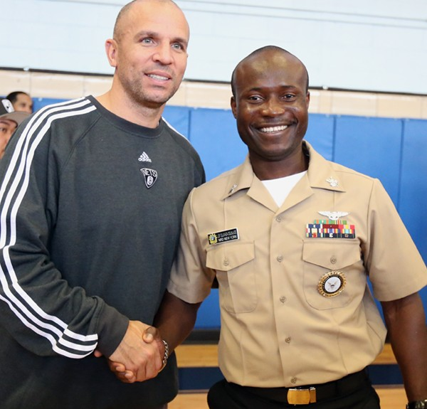 Brooklyn Nets/Veterans Day at Ft. Hamilton