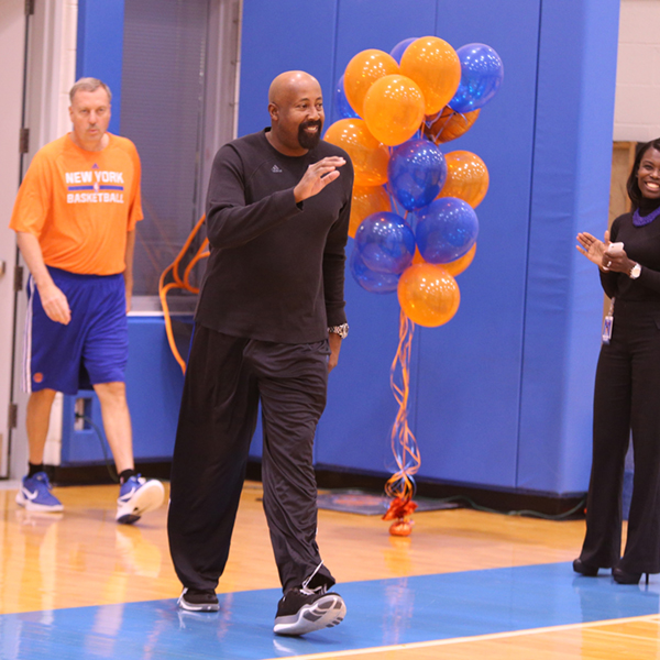 NBA FIT/Garden of Dreams Event with the New York Knicks