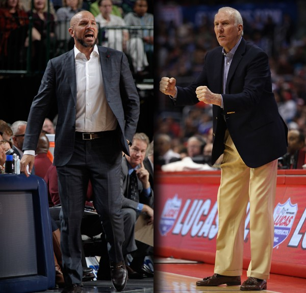 kidd and popovich coaches of Month April