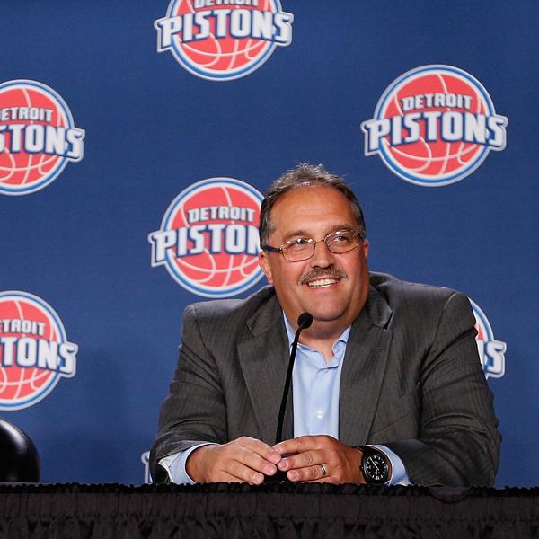 Detroit Pistons Introduce Stan Van Gundy