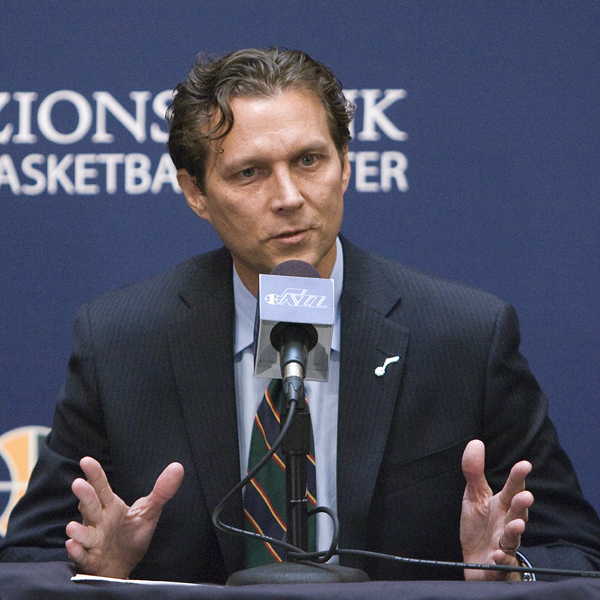 Quin Snyder Named Utah Jazz Head Coach Press Conference