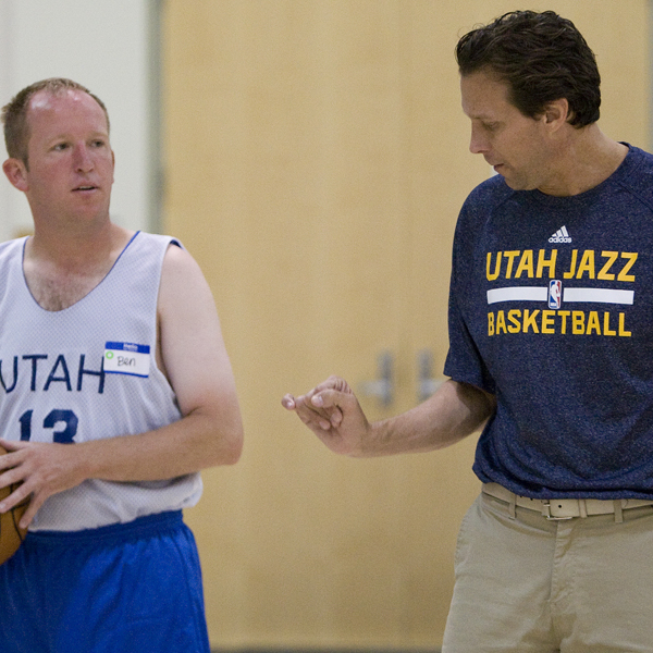 Utah Jazz Special Olympics