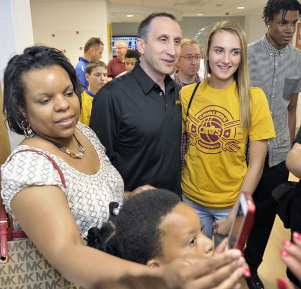 Cleveland Cavaliers Unveil Refurbished Activity Center at Cleveland Clinic Children's