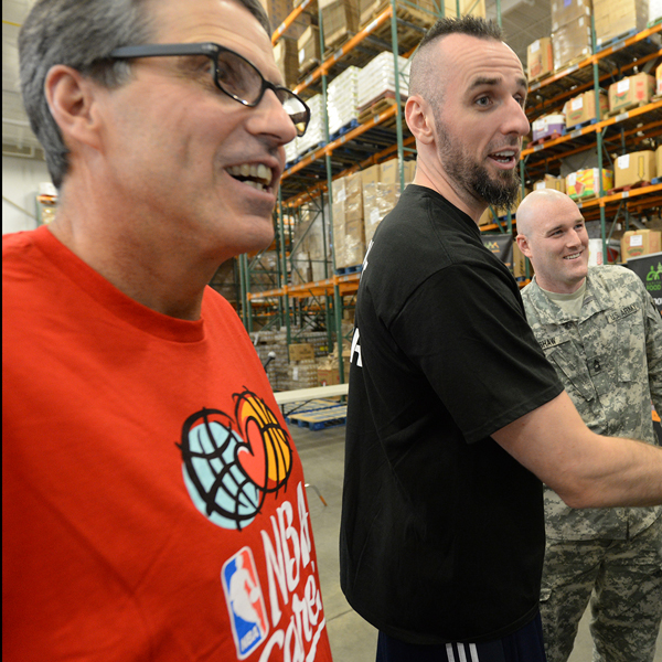 Washington Wizards and Service Members Join Forces