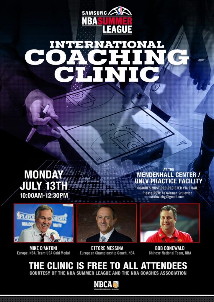 2015 International Coaching Clinic Invite