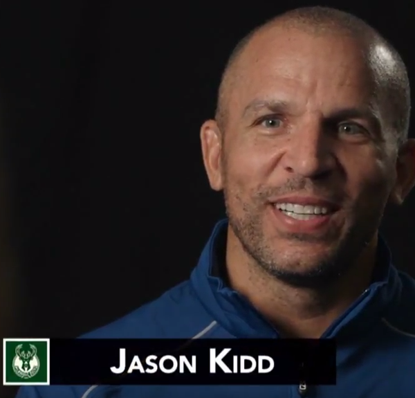Jason Kidd Milwaukee Bucks NBA Coaches Meetings