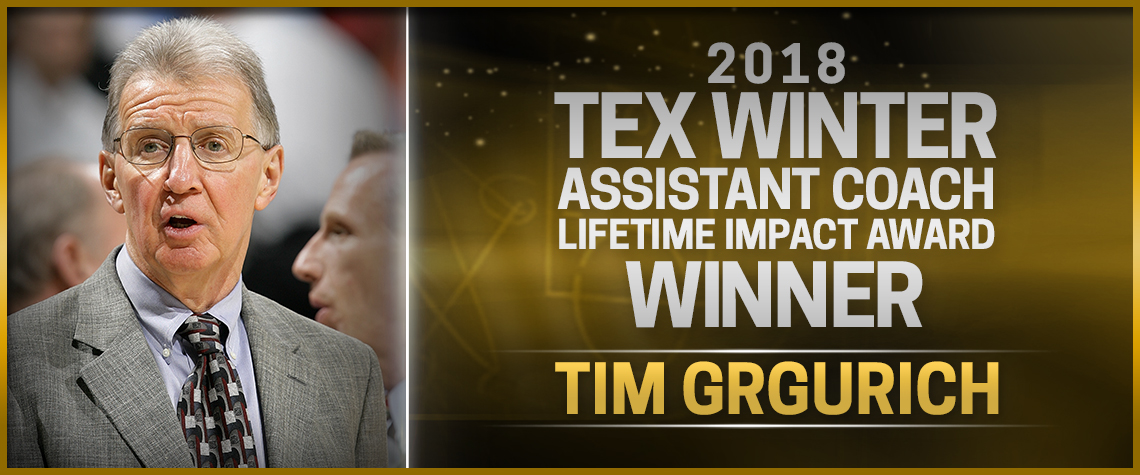 Tex Winter Award Tim Grgurich