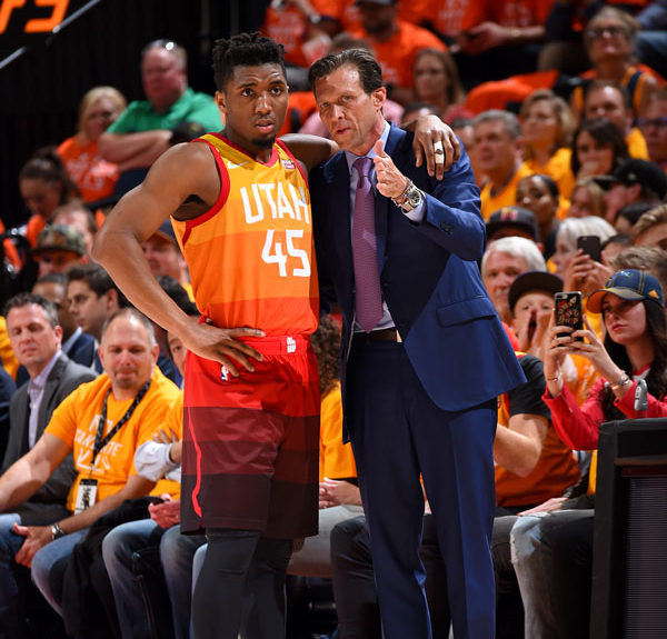 9a8b96f4a Jazz Head Coach Quin Snyder Impressed With the Humility and Teamwork of His  Coaching Staff
